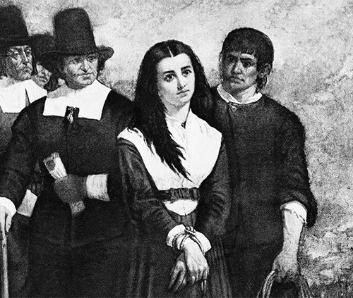 A Discovery of Witches-Witch Trials-Women's History and Literature - by author Harriet Young